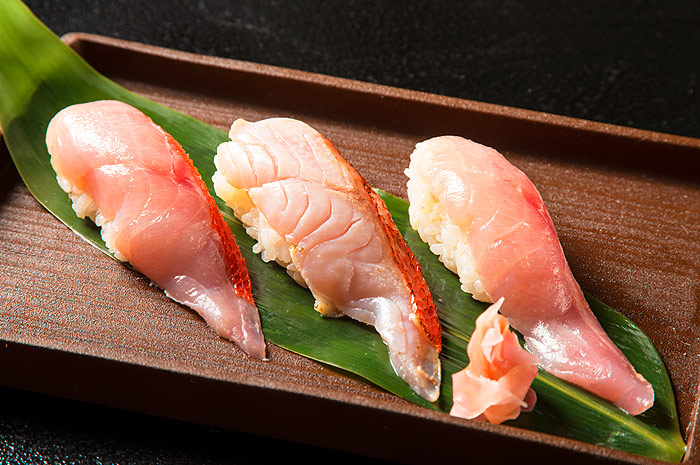 地金目寿司