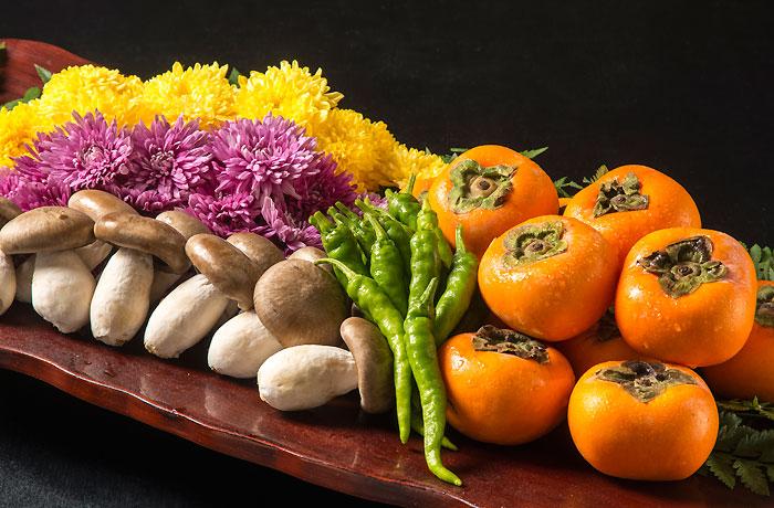 秋の旬な野菜