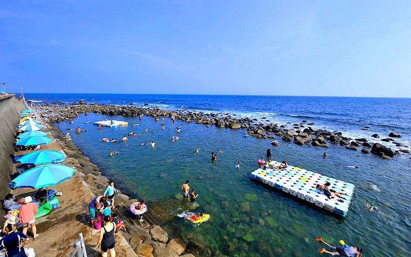 稲取温泉「磯 Sea Garden IKEJIRI(旧ウキウキビーチ)」